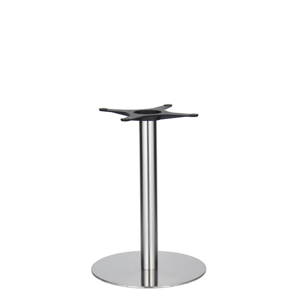 Golden Gate Brushed S/Steel Base & Column D500 x H690mm | Eurofit Direct