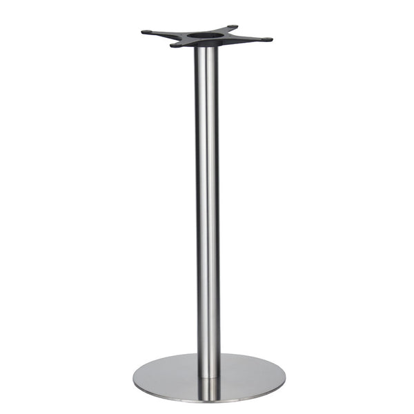 Golden Gate Brushed S/Steel Base & Column D500 x H1100mm - Eurofit Direct