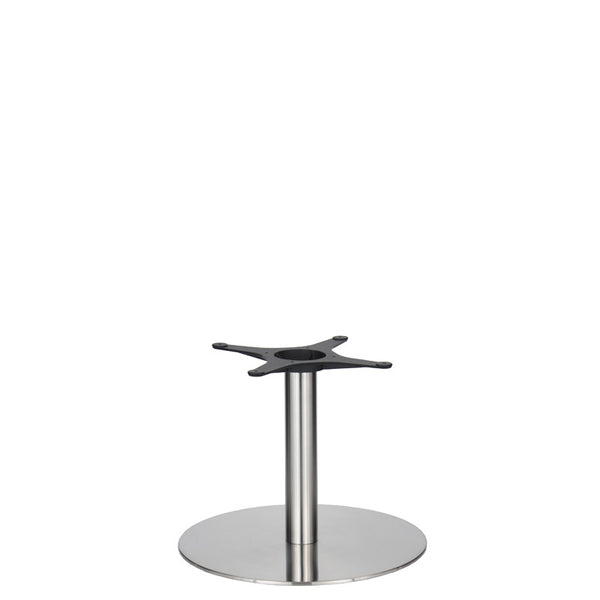 Eurofit Golden Gate S/Steel Base & Column - Diameter = 580mm - Height = 450mm