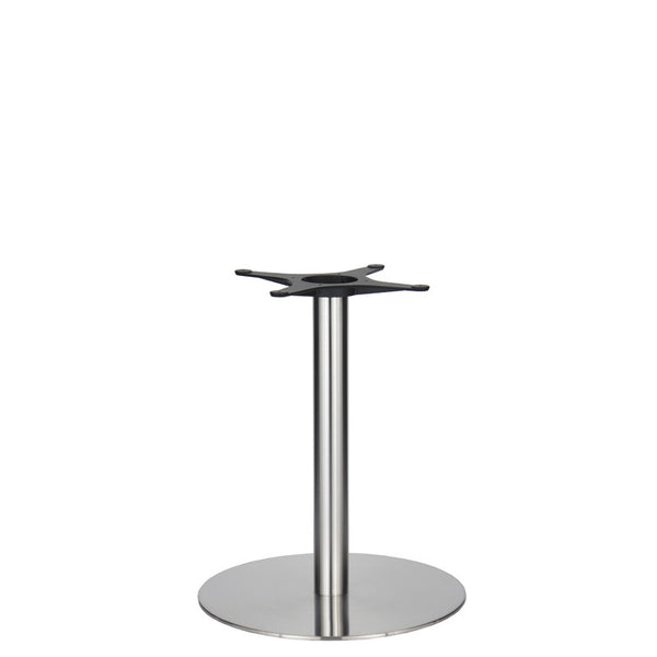 Golden Gate Brushed S/Steel Base & Column D580 x H690mm