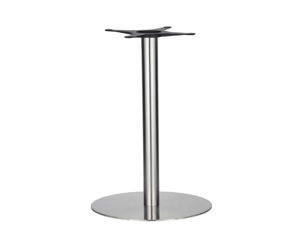 Eurofit Golden Gate S/Steel Base & Column - Diameter = 580mm - Height = 1100mm