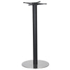Golden Gate Brushed S/Steel Base & Black Column D500xH1100mm