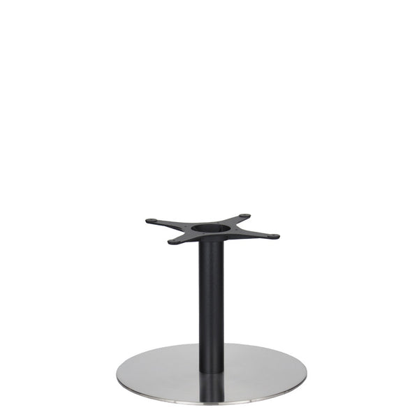 Eurofit Golden Gate S/Steel Base & Black Column - Diameter = 580mm - Height = 450mm
