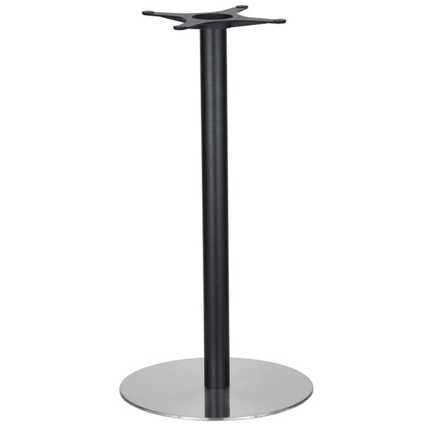 Golden Gate Brushed S/Steel Base & Black Column D580xH1100mm