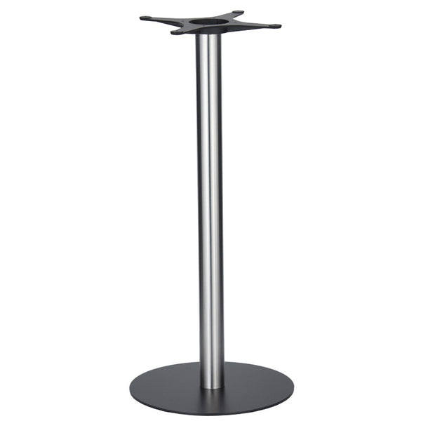 Golden Gate Black Base & Brushed S/Steel Column D500xH1100mm