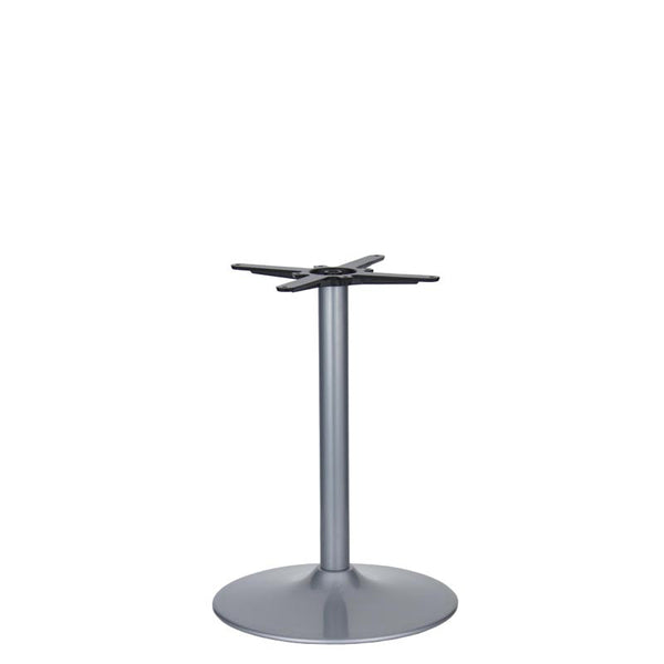 Vancouver Large Silver Base & Column - D500 x H690mm | Eurofit Direct