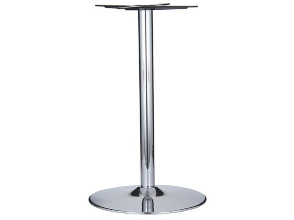 Vancouver Large Chrome Base & Column - D500 x H1100 - Eurofit Direct