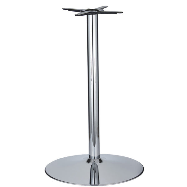 Vancouver Extra Large Chrome Base & Column - D680 x H1100mm