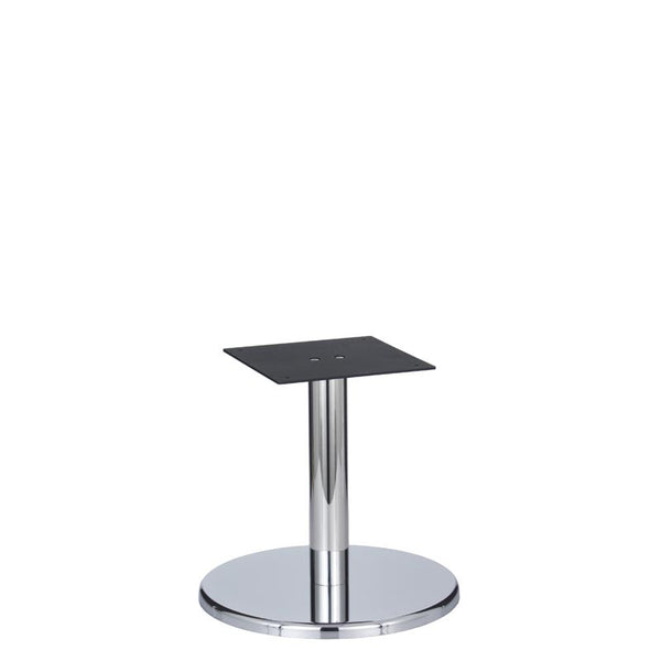 Bayside Chrome Base & Column - D500 x H465mm