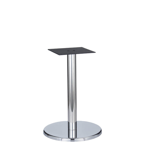 Bayside Chrome Base & Column - D500 x H700mm - Eurofit Direct