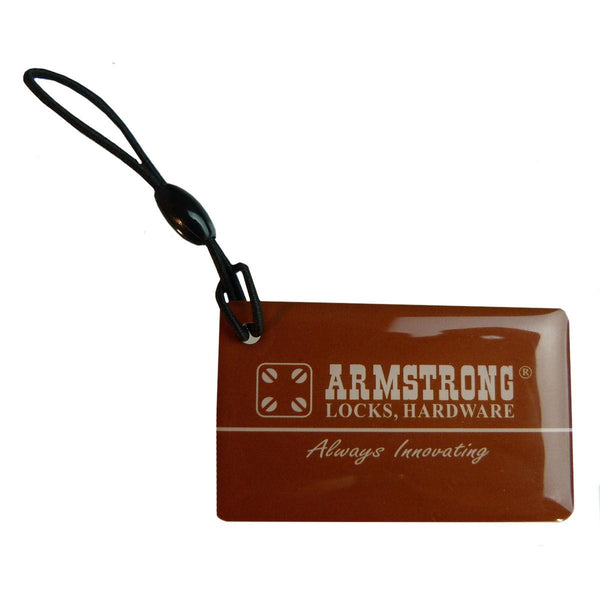 Armstrong User Card For Digital Lock Key Ring Card Size