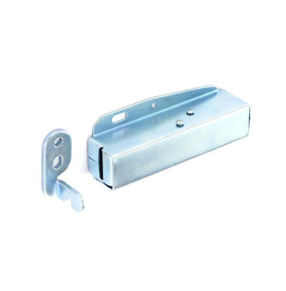Push To Open Touch Locking Latch - Zinc Plated