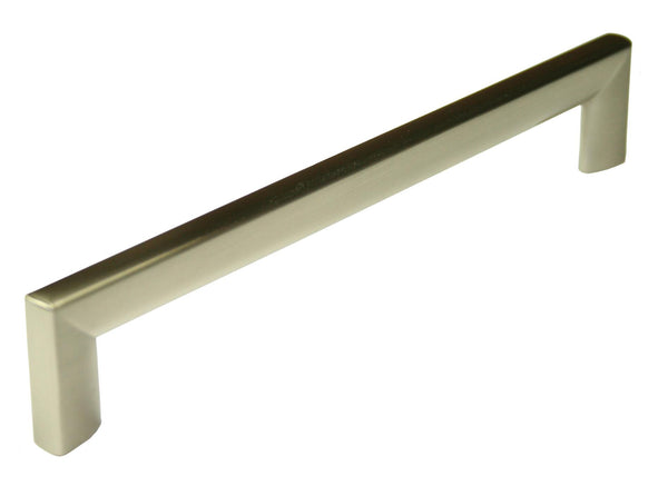 D Handle Length 174mm (Hole Centres 160mm) Brushed Nickel