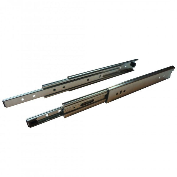 Ball Bearing 120kg Drawer Slide 56 x 600mm Ext 100%