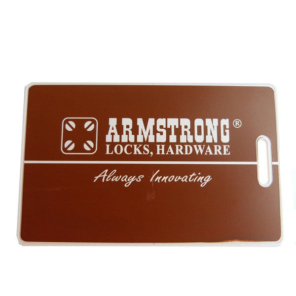 Armstrong User Card For Digital Lock Credit Card Size