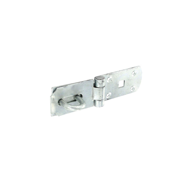 Medium Hasp & Staple - 200mm - Galvanised - Eurofit Direct