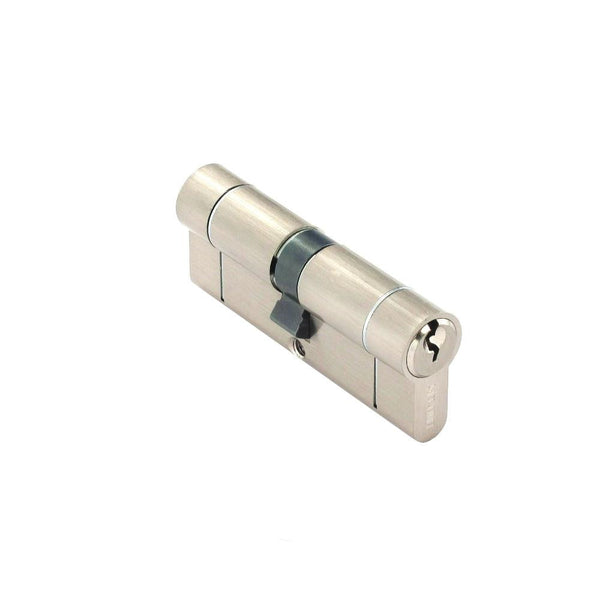 Securit Anti-Snap & Bump Euro Cylinder - 40 x 40mm - Nickel Plated - Eurofit Direct