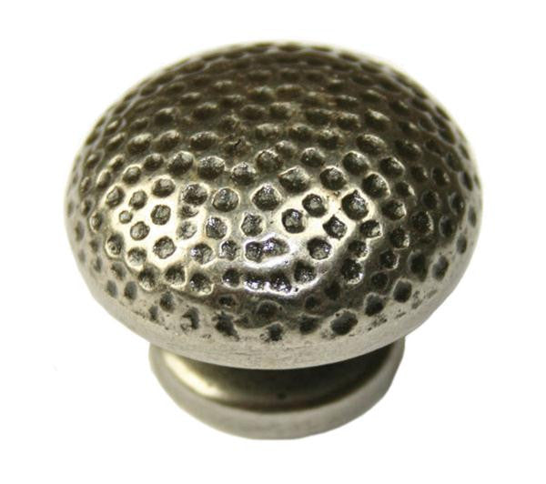 Round Knob Diameter 34mm Pewter