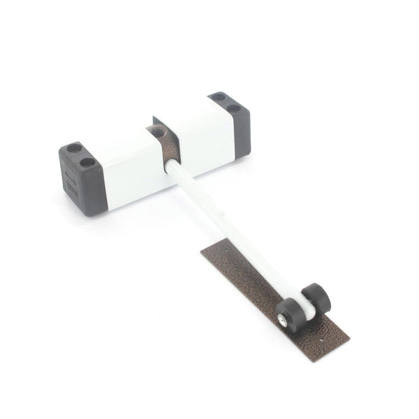 Surface Fix Door Closer - 100 x 150mm - White