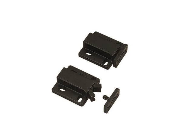Non Magnetic Retaining Touch Latch - R/F 29N - Black - Eurofit Direct