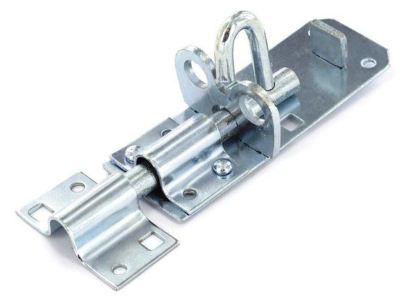 Padlock Bolt - Length 100mm - Zinc Plated