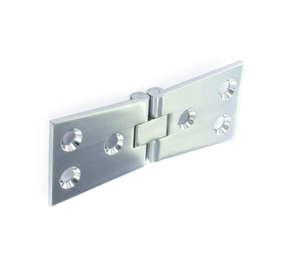 Counterflap Hinges - 32mm x 100mm - Polished Chrome