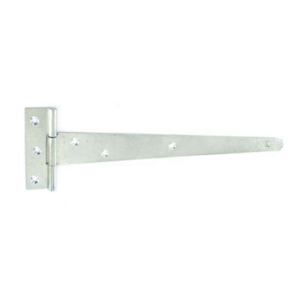 Tee Hinge 250mm - 1.5mm thick - Light - Zinc Plated
