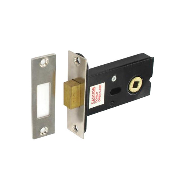 Deadbolt For 5mm Spindle - 75mm - Nickel Plated