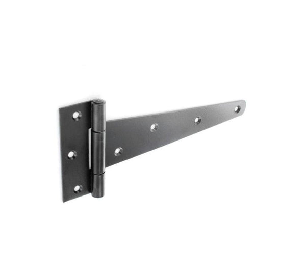 Tee Hinge 450mm - 2.5mm thick - Black.