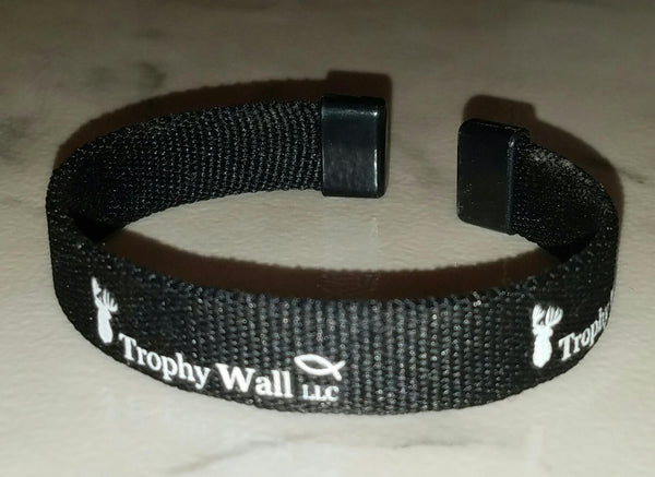 Trophy Wall Black Flex-Bracelet