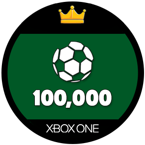 100k Xbox One FIFA 17 Ultimate Team Coins
