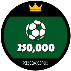 250k Xbox One FIFA 17 Ultimate Team Coins