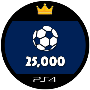 25k PS4 FIFA 17 Ultimate Team Coins