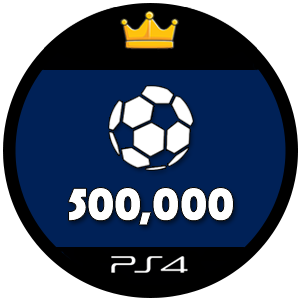 500k PS4 FIFA 17 Ultimate Team Coins