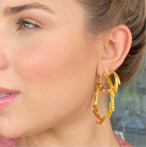 Load image into Gallery viewer, Quasar Hoops Earrings