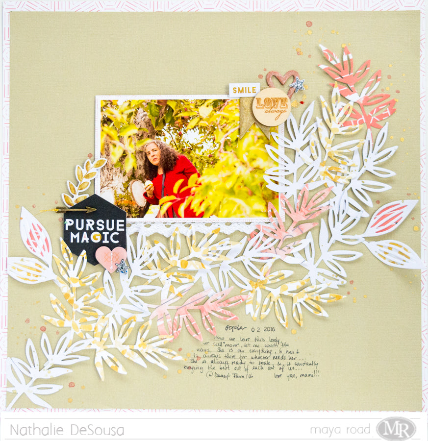 Scrapbook Layout | PURSUE MAGIC