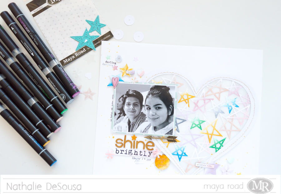 Chameleon Pens & Maya Road Blog Swap  |  IT IS IN THE STARS