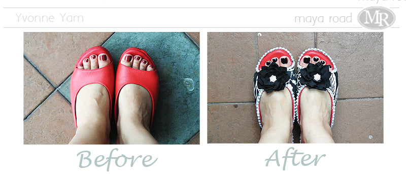 The shoe makeover