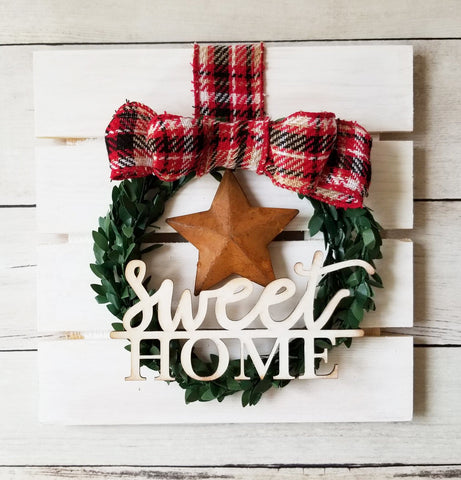Looking for a special gift? Check out our new Sweet Home Wreath Kit