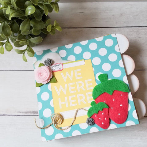 We Were Here Mini Album Kit