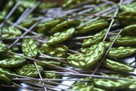 Trinket Pins - Leaf - Bulk - Green