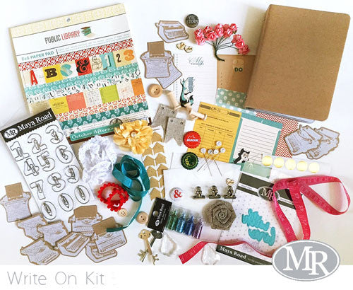 Write On Mini Album Kit