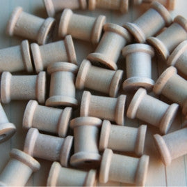 Wood Mini Spools - Bulk