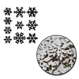 Snowflakes Mini Chipboard Set