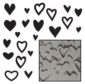 Mini Chipboard Heart Confetti Set