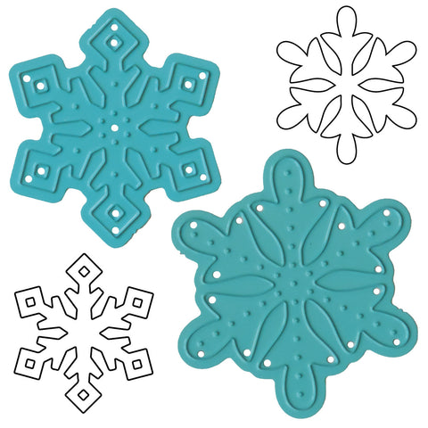 Steel Dies - Winter Wonderland Snowflakes