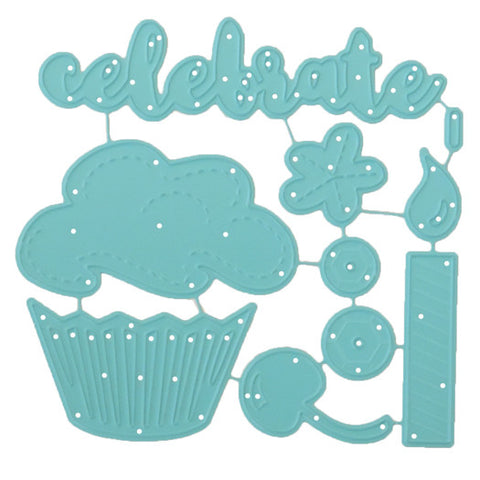 Celebrate Cupcake Die Bundle