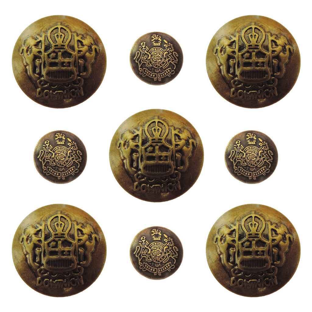 Ken Oliver Vintage Ornate Buttons