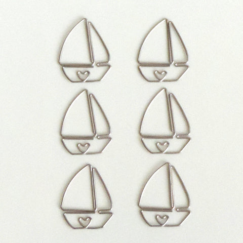 Sailboat Clip - Bulk