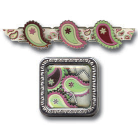 Queens Paisley Ribbon Slides